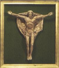 cristo risorto (study) by duilio cambellotti
