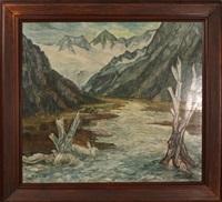 gletscher landschaft by helmut rehm