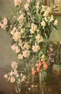 composition aux trois bouquets by taissia afonina