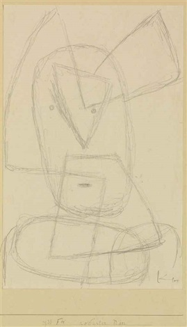 robuster narr by paul klee