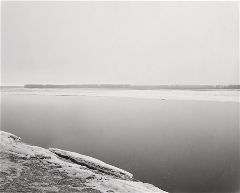 concrete and ice missouri river clay county south dakota by robert adams