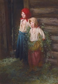 village girls by kirill vikentevich lemokh