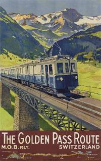 the golden pass route by edouard elzingre