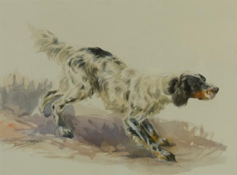 a setter at work by edmund henry osthaus