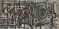 composition number 1 by richard pousette-dart