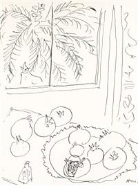 nature morte devant une fenêtre by henri matisse