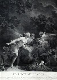 la fontaine d'amour (pair) by nicolas-francois regnault