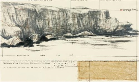 packed coast project for little bay new south wales australia by christo and jeanne claude