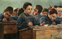 in the classroom by paul louis martin des amoignes