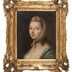 portrait einer comtesse by pietro antonio rotari
