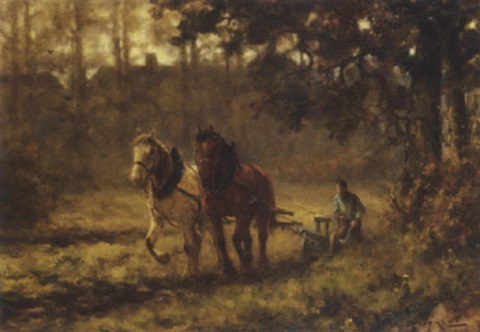 the ploughteam by martinus jacobus nefkens