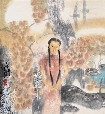 lady by ma yuan