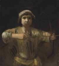 ishmael with a bow and arrow by barent fabritius