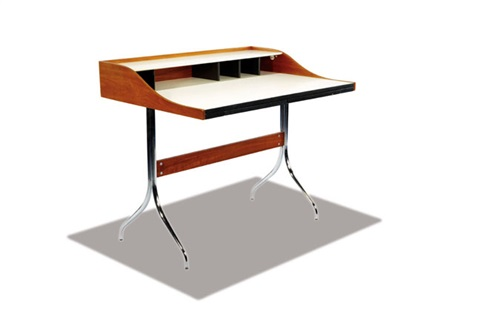 Swag Leg Desk (model 5850) By George Nelson