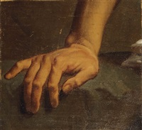 etude de main by alphonse henri perin