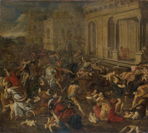 le massacre des innocents by nicolas poussin