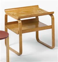 occasional table, model no. 75/915 by alvar aalto