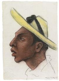 cabeza de campesino by diego rivera