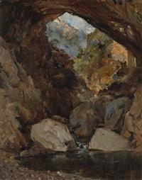tonto's bridge, arizona by john bond francisco