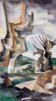 paysage by andrée simon