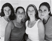 the brown sisters (heather brown, mimi brown, bebe brown nixon and laurie, harwich port, massachusetts) by nicholas nixon