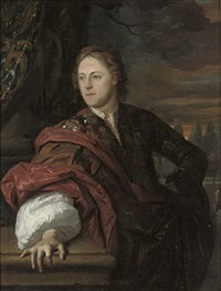 portrait of a man by carel de moor