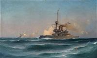 pansarbåtar till havs by ludvig otto richarde