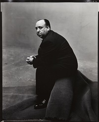 alfred hitchcock, new york, may 23 by irving penn