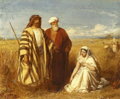 boaz and ruth by james faed