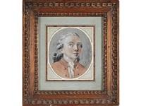 portrait de monsieur de montmorin de neufchatel by jean-martial fredou