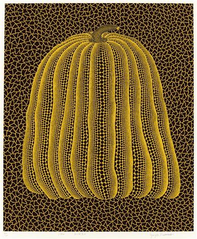 黃南瓜 yellow punkin by yayoi kusama