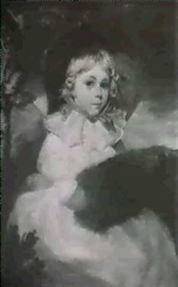 portrait of a young girl by richard livesay