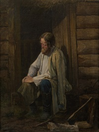 old man by vasili andreevich golynskij