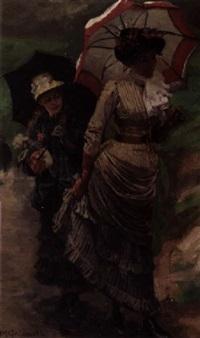 to elegante unge kvinner by markus frederik steen gronvold