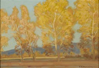 autumn colors by ernest martin hennings
