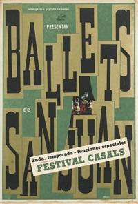 ballets de san juan by lorenzo homar