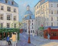 rue de la montagne ste geneviève by jacques camus