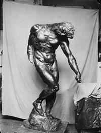 adam, skulptur von rodin by jean limet