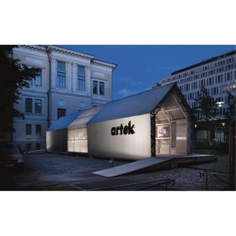 artek pavilion (collab. w/ artek and upm finland) by shigeru ban