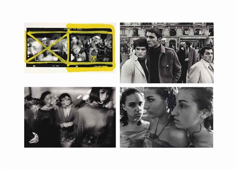backstage jp gaultier dressing room alaia toko coulisses alaia japonaise a droite paris untitled and greek heiresses athens 4 works by william klein