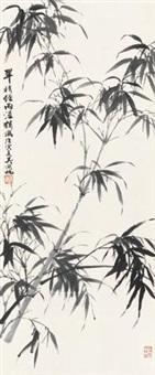 墨竹图 by wu hufan