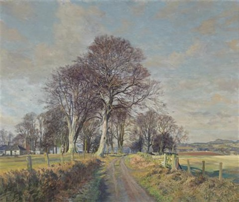 mylnefield carse of gowrie perthshire by james mcintosh patrick