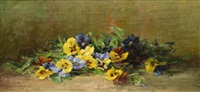 pansies by lydia m. b. hubbard