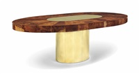 extending dining table by paul evans