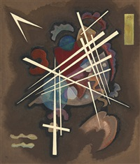 gitterform (netting) by wassily kandinsky