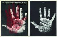 hand show (ensemble de 24) by robert filliou