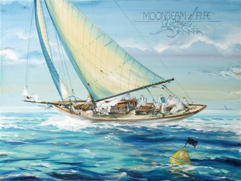 moonbeam iv yacht de william fife by laurent le pont