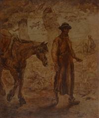 le paysan et son cheval by ivan peske