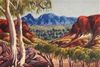 macdonnell ranges by herbert raberaba