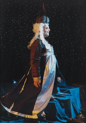 untitled 298 comme des garçons wizard with stars by cindy sherman